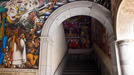 El ultimo gran muralista Desiderio Hernandez  Xochitiotzin