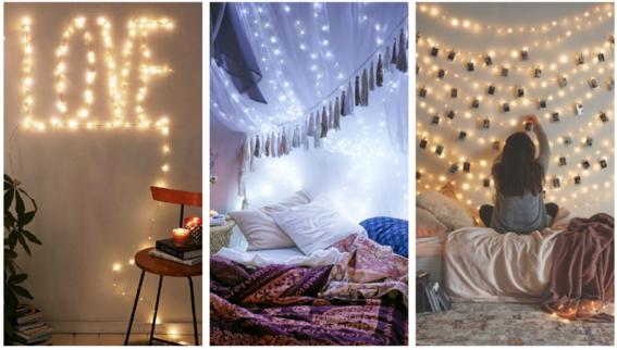 8 formas de transformar tu habitaci n con una serie de - Habitaciones con luces ...