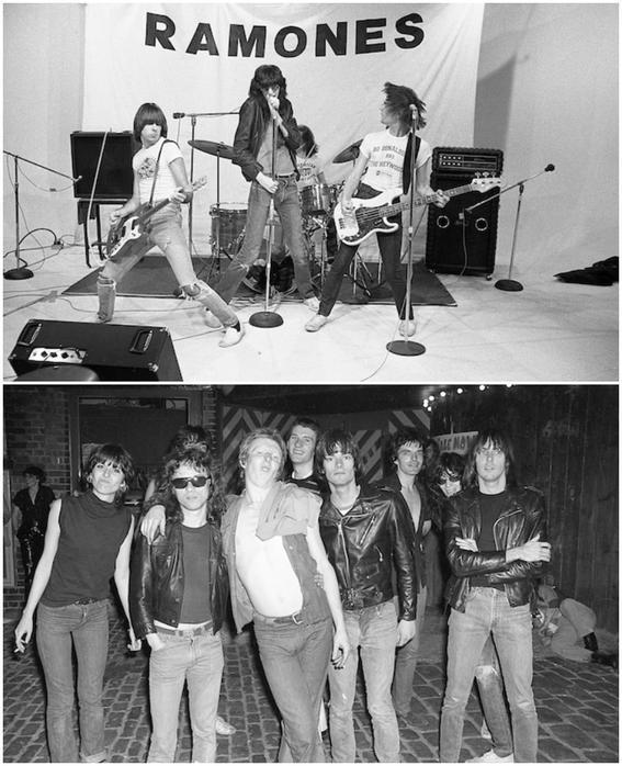 fotografias de the ramones punk