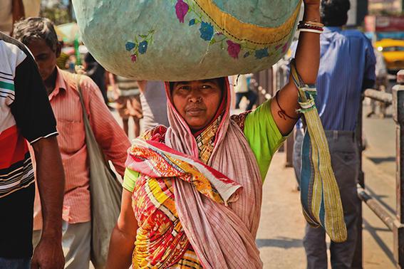 fotos de la india mercado
