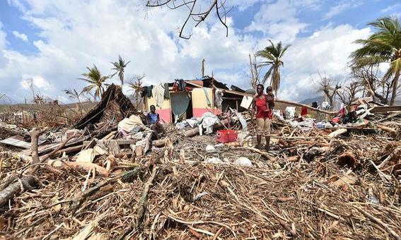 crisis alimentaria en haiti