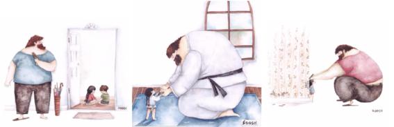 ilustraciones soosh papas