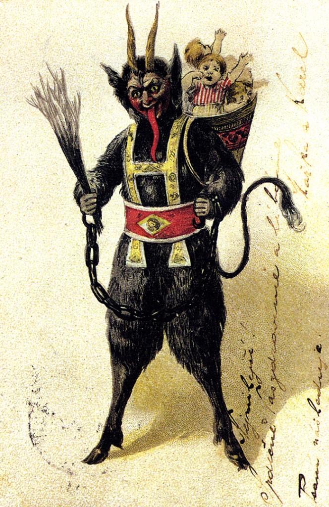 Historia de Santa Claus krampus