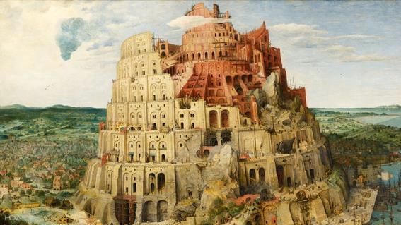 la gran torre de babel