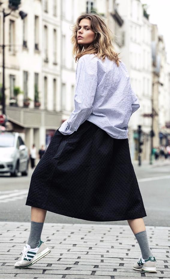 mujeres con estilo diferente faldas