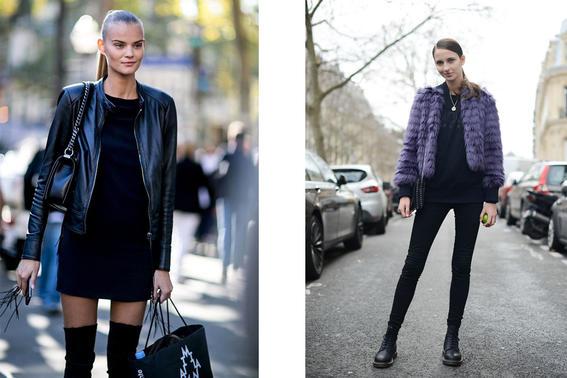 mujeres con estilo diferente fur