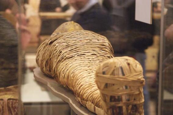 momia de la viruela