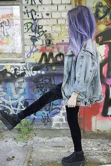 pinterest moda y estilo grunge girl