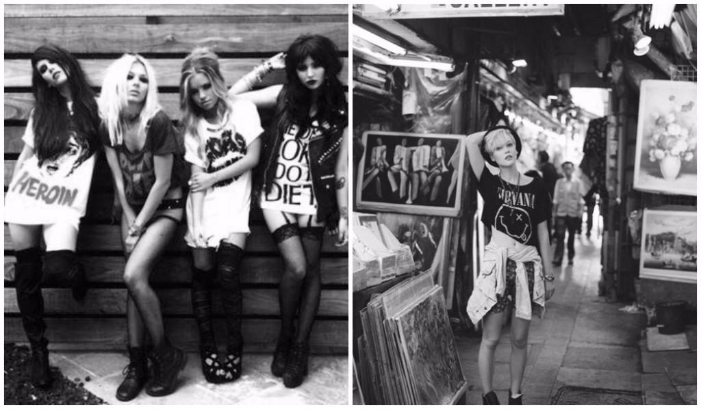 looks inspirados en los 80