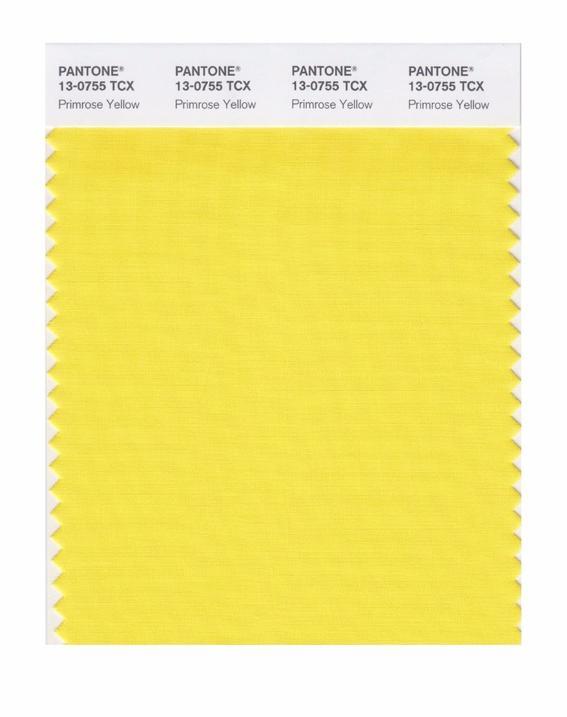 Colores de moda 2017  primrose-yellow