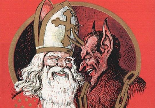 Historia de Santa Claus santa-krampus