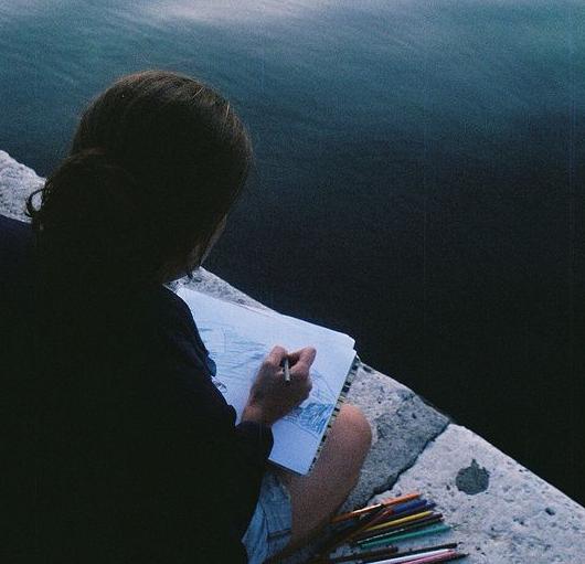 ser un gran artista pintar
