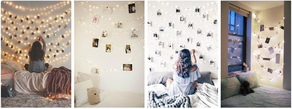 8 formas de transformar tu habitaci n con una serie de for Luces led para cuartos