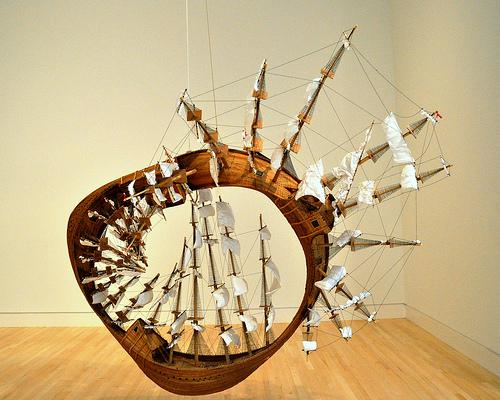 ship obras de arte contemporaneo