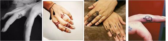 tatauajes en las manos SECOND