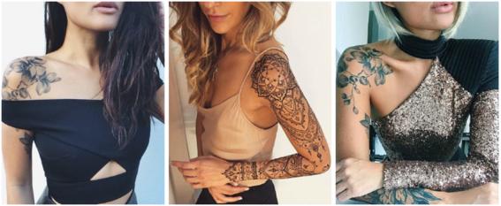 tatuajes en el hombro disenos