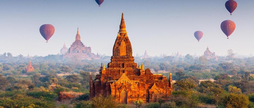 templos budistas bagan