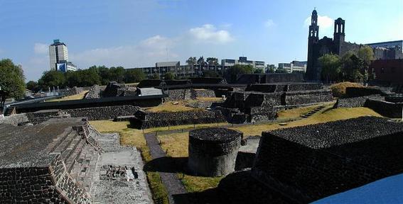 templo prehispanico en tlatelolco