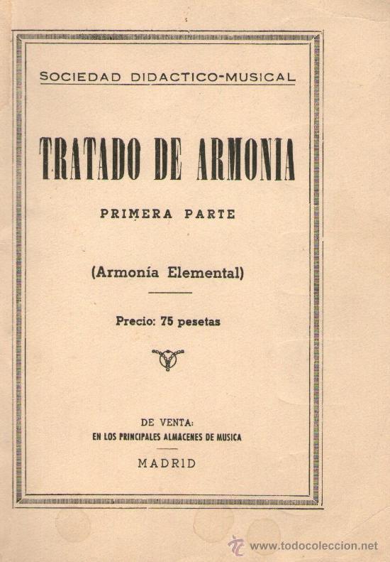 Libros de teoría musical  tratado-de-armonioa