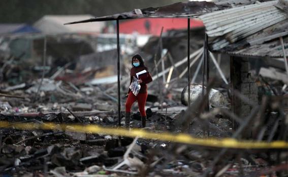 actualizacion de explosion en tultepec