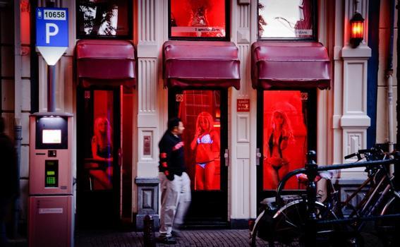 zona roja de amsterdam amsterdam