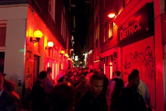zona roja de amsterdam prostitucion
