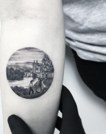 tatuajes inspirados en el cine castillo