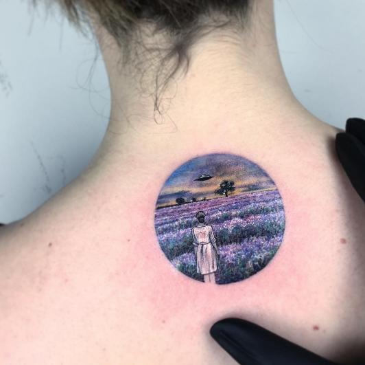 tatuajes inspirados en el cine flores