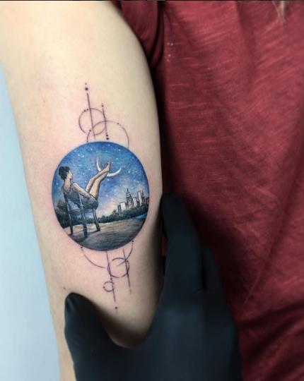 tatuajes inspirados en el cine bailarina