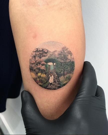 tatuajes inspirados en el cine luna paseo