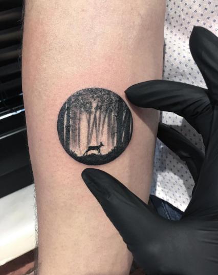 tatuajes inspirados en el cine lobo