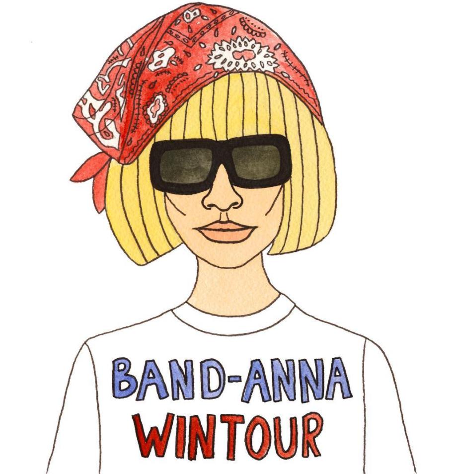 Angelica Hicks Anna Wintour