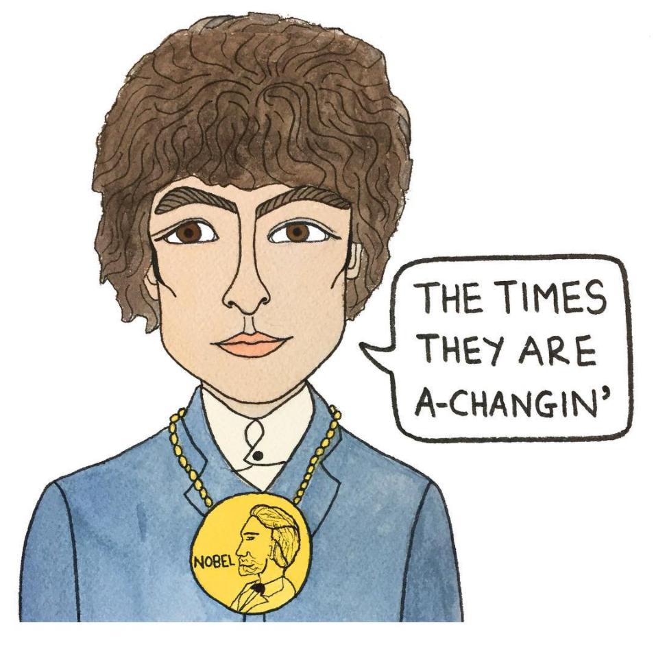 Angelica Hicks Bob Dylan