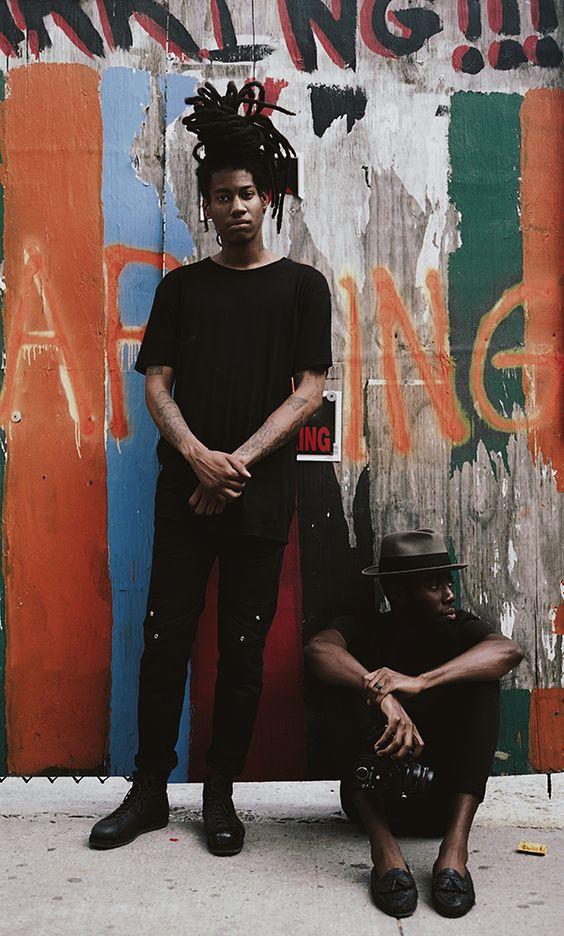 Basquiat brown