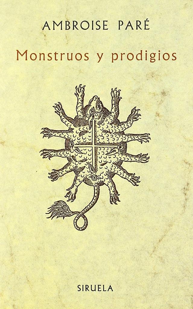 libro de monstruos y prodigios