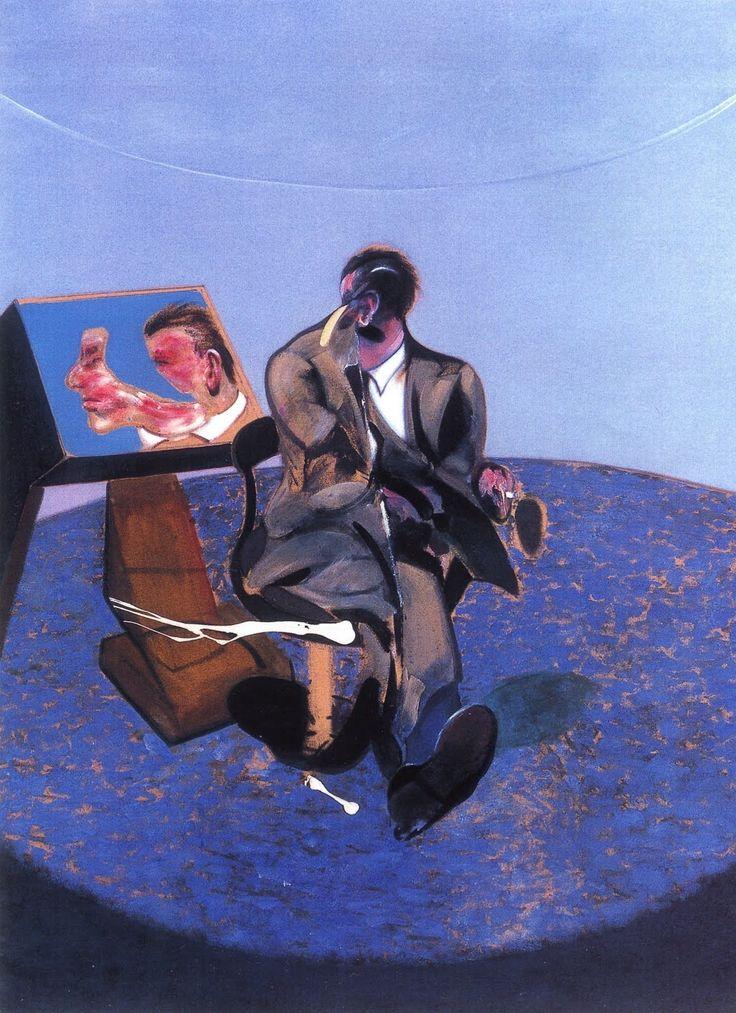 Francis Bacon Lover Muse Mirror