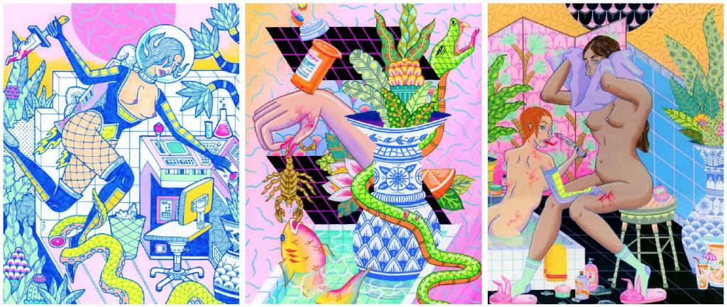Kristen Liu-Wong serpientes