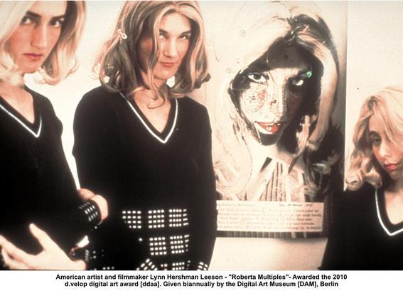 Lynn Hershman Leeson artistas con alter ego