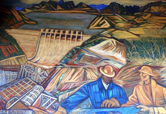 Artistas mexicanos posrevolucionarios