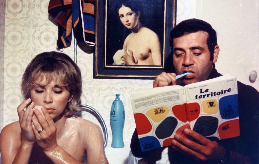 Peliculas de Jean Luc Godard weekend