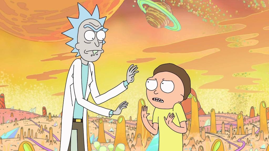 Rick and Morty familias fisfuncionales