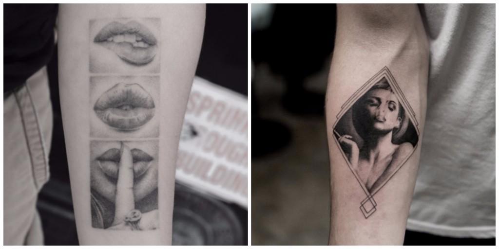 diseños de tatuajes geométricos