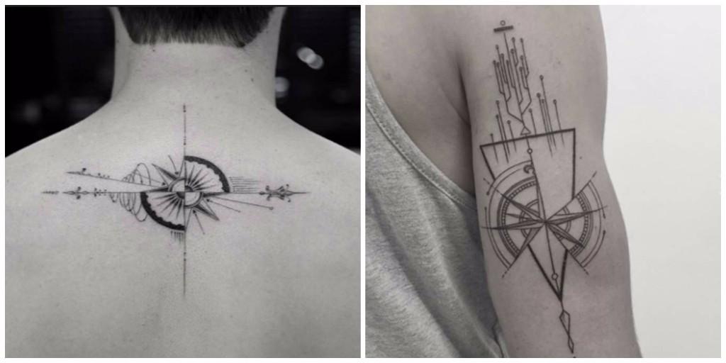 diseños de tatuajes geometricos