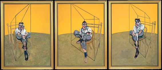 Triptico sobre Lucian Freud