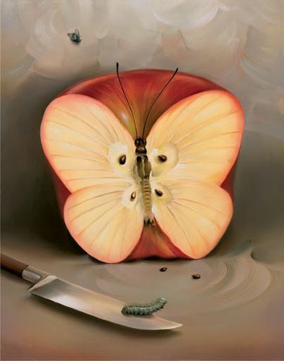 Vladimir-Kush-manzana Significado de la manzana en el arte
