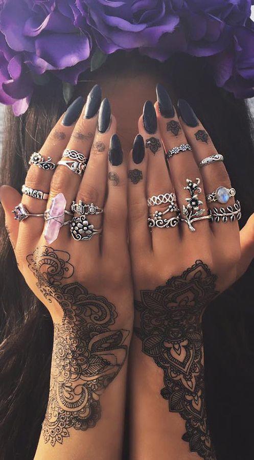 XS moda con 15 anillos
