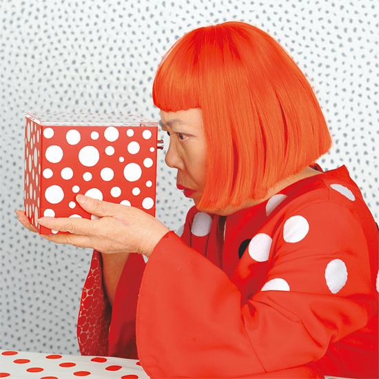 Yayoi Kusama famosos con trastorno obsesivo compulsivo