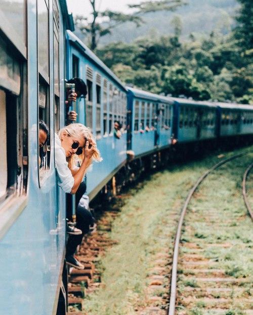 año sabatico tren