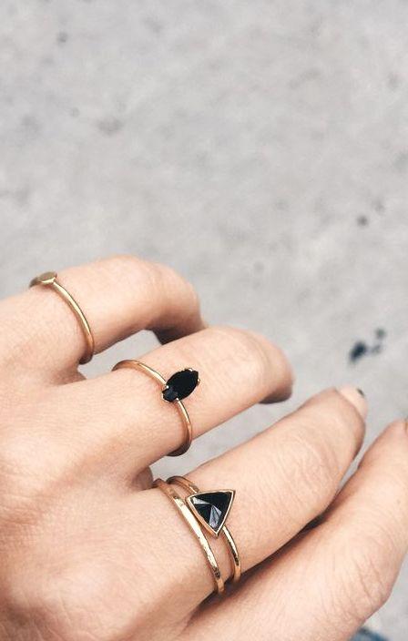 anillos ropa con estilo para mujeres
