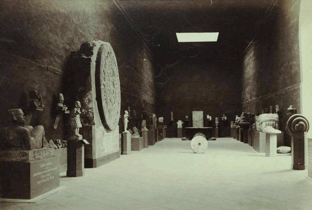 antiguo museo nacional sala monolitos